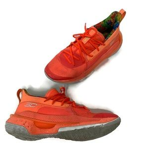 Under Armour Steph Curry Sour Patch Orange Sneaker